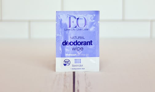 Deodorant Wipes - Lavender- Code#: PC1240
