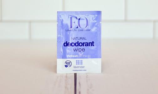 Deodorant Wipes - Lavender- Code#: PC1240