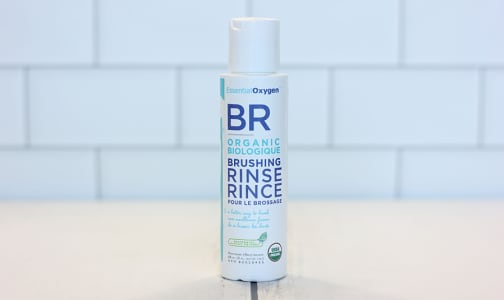 Organic Brushing Rinse Peppermint- Code#: PC1244