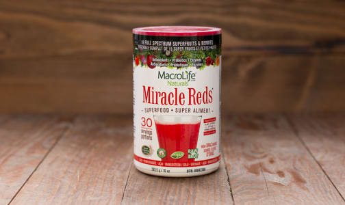 Organic Miracle Reds - 30 Day- Code#: PC1251