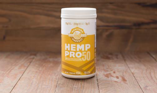 Hemp PRO 50 Whole Food 50% Protein Powder- Code#: PC1260