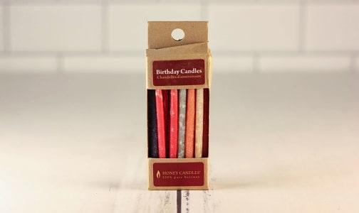 Organic Birthday Candles - Royal- Code#: PC1265