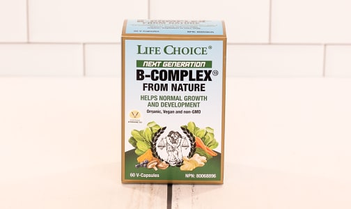 Organic Next Gen B Complex- Code#: PC1326