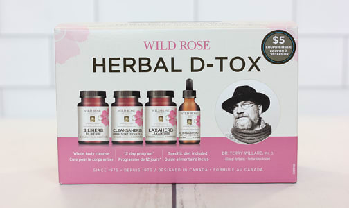 Herbal D-Tox Program - 12 Day- Code#: PC1384