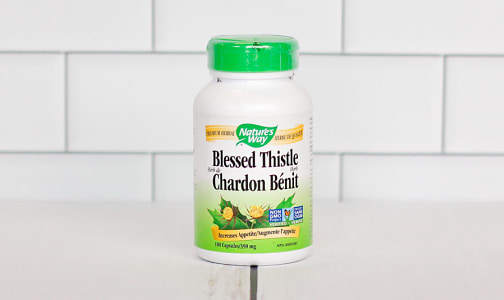 Organic Blessed Thistle- Code#: PC1387