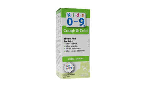 Cough & Cold Syrup, Kids- Code#: PC1405