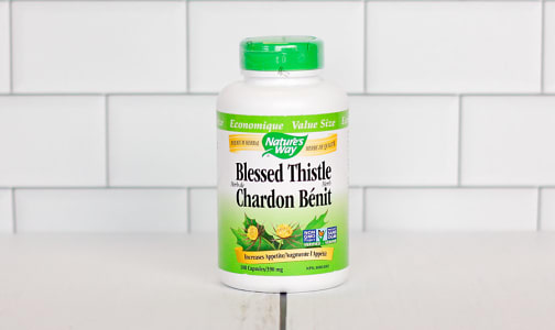 Organic Blessed Thistle- Code#: PC1450