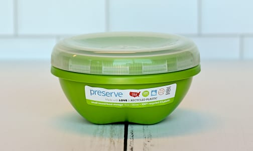 Small Round Container - Green Apple- Code#: PC1490