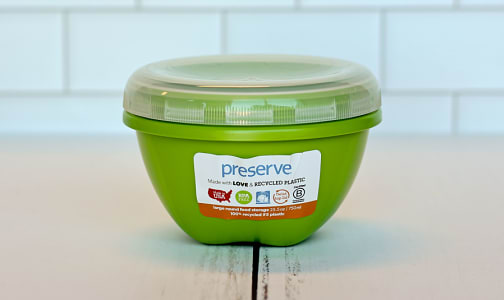 Large Round Container - Green Apple- Code#: PC1491