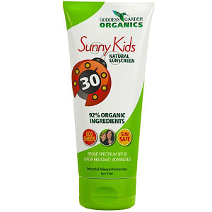 Sunny Kid's Natural Sunscreen SPF30- Code#: PC1534