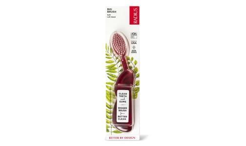 ToothBrush - The Big Brush Original - Left Hand - Soft- Code#: PC1575