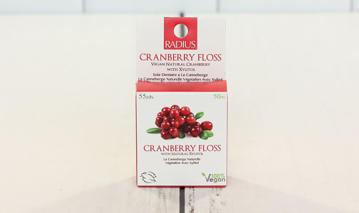 Vegan Floss - Cranberry- Code#: PC1588