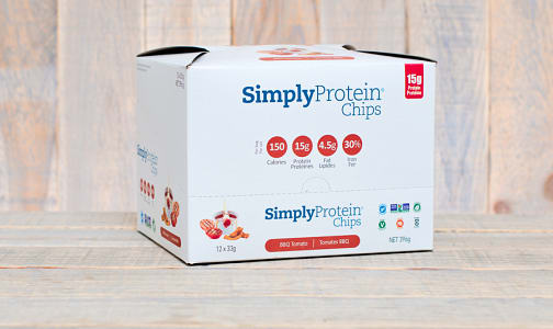 Simply Protein Chips - BBQ - CASE- Code#: PC1590-CS