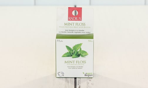 Vegan Xylitol Mint Floss- Code#: PC1598