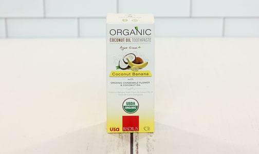 Organic Coconut Banana Toothpaste- Code#: PC1599