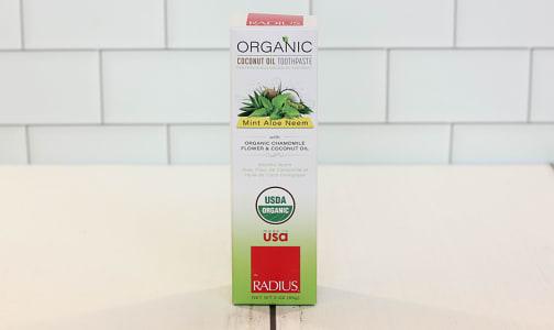 Organic Mint Aloe Neem Toothpaste- Code#: PC1606