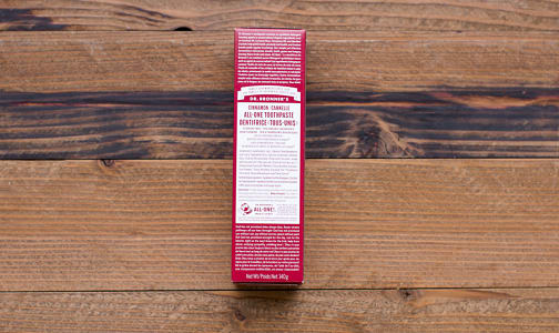 Organic Cinnamon All-One Toothpaste- Code#: PC1751