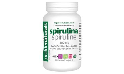 Organic Spirulina Tablets- Code#: PC1979