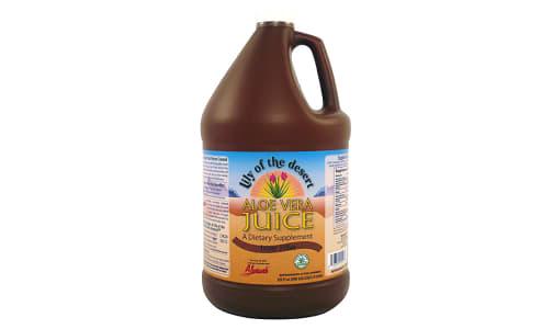 Organic Inner Fillet Aloe Vera Juice, Preservative Free- Code#: PC2029