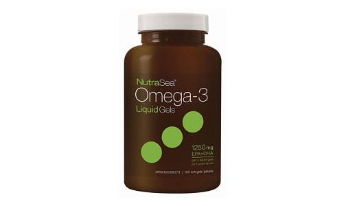 Omega-3 Liquid Gels- Fresh Mint- Code#: PC2056