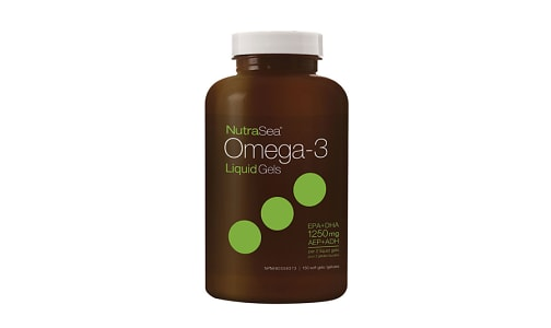 Omega-3 Liquid Gels- Fresh Mint- Code#: PC2057