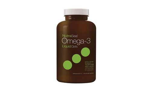 Omega-3 Liquid Gels- Fresh Mint- Code#: PC2057