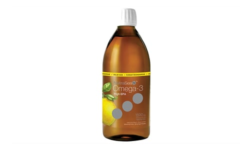 Omega-3 HP Extra Strength EPA - Lemon- Code#: PC2066