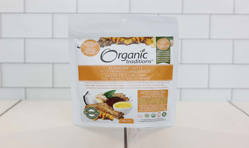Organic Turmeric Latte with Probiotics- Code#: PC2181