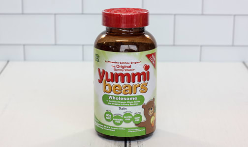 Yummi Bears - Whole Food Gummy- Code#: PC2202