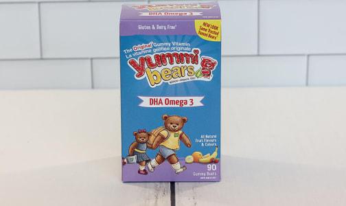 Yummi Bears - Omega 3 + DHA- Code#: PC2205