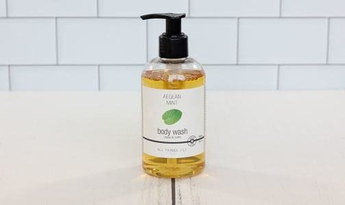 Aegean Mint Body Wash- Code#: PC2347