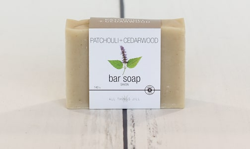 Bar Soap - Patchouli Cedar- Code#: PC2354