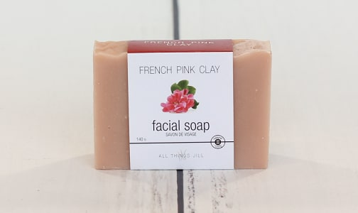 Bar Soap -  Facial Pink Clay- Code#: PC2356