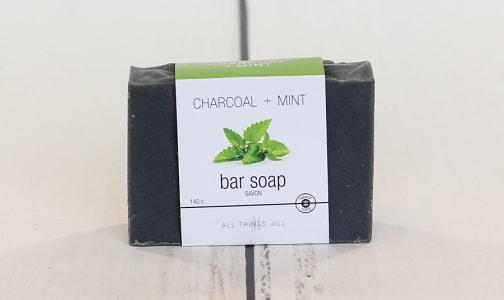 Bar Soap - Charcoal Mint- Code#: PC2359