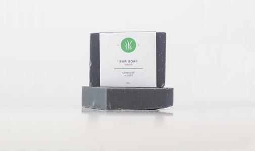 Charcoal + Mint Bar Soap- Code#: PC2359