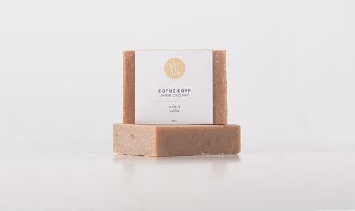 Oat & Honey Scrub Bar Soap- Code#: PC2360
