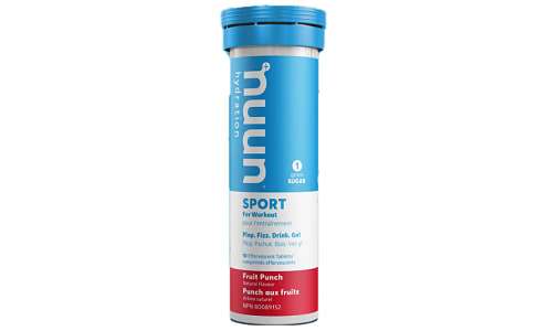 Sport - Fruit Punch Tablets- Code#: PC2441