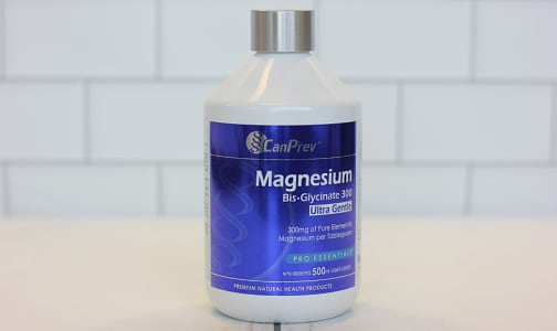 Magnesium Bis-Glycinate 300 Ultra Gentle Liquid- Code#: PC2471