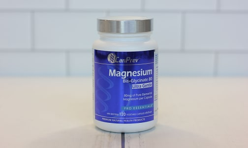 Magnesium Bis-Glycinate 80 Ultra Gentle- Code#: PC2472