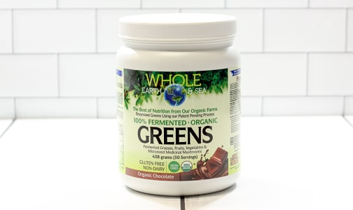 Organic Fermented Greens -  Chocolate- Code#: PC2477