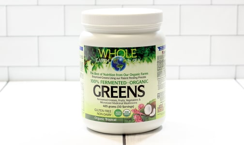Organic Fermented Greens -  Tropical- Code#: PC2478