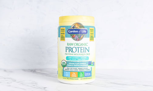 Organic RAW Protein - Unflavoured- Code#: PC2481