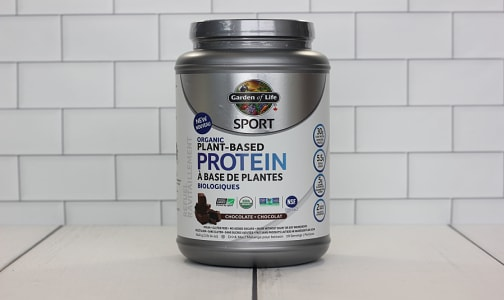 Organic SPORT Plant Based Protein - Chocolate- Code#: PC2483