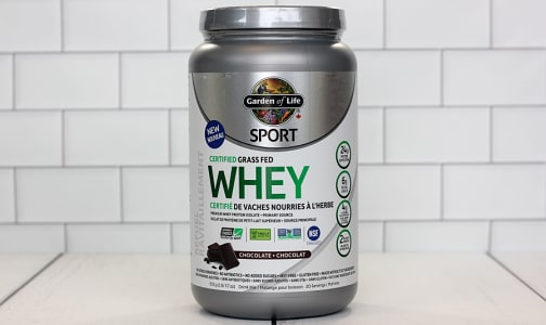 SPORT Certified Grass Fed Whey - Chocolate- Code#: PC2485