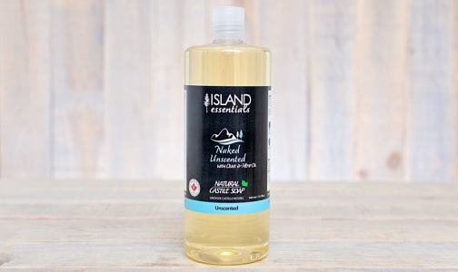 Naked Unscented Castile Soap- Code#: PC2501