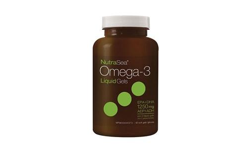 Omega-3 Liquid Gels - Fresh Mint- Code#: PC2562