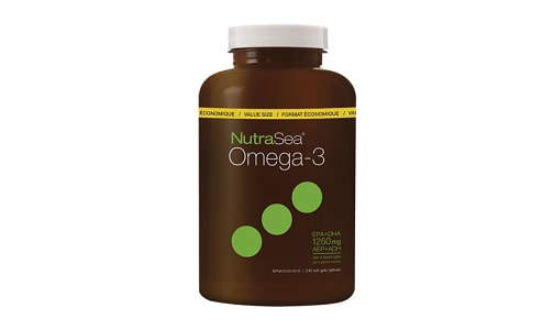 Omega-3 Liquid Gels - Lemon- Code#: PC2563