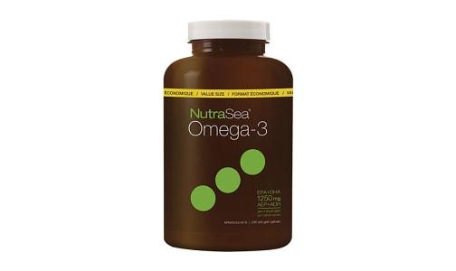 Omega-3 Liquid Gels - Lemon- Code#: PC2563