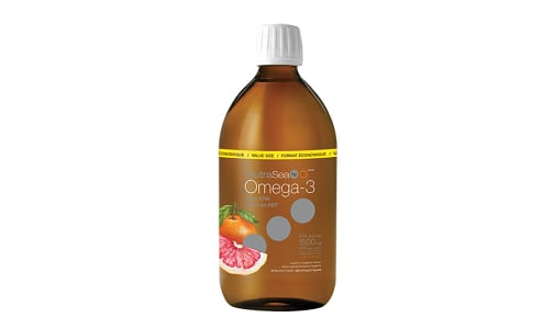 Omega-3 HP + D Extra Strength EPA - Grapefruit Tangerine- Code#: PC2565