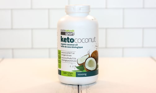 Organic Sport Ketococonut - 100% Pure Coconut Oil- Code#: PC2621